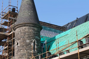 Duncairn Church Roof - Aerogel